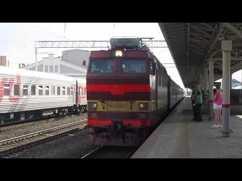 ЧС4Т-290 с поездом№337Ж Санкт Петербург-Самара станция Нижний Новгород Московский 11.05.2019