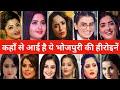 जानिए कहाँ से आई है ये भोजपुरी की हीरोइने | Kajal, Aamrapali, Akshara, Rani, Monalisa,
