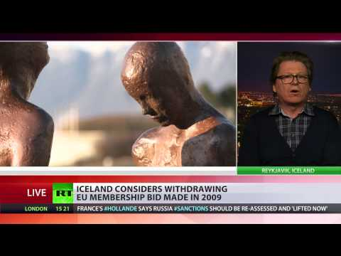 Iceland considers withdrawing EU application - PM