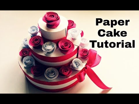 Paper Cake Tutorial | How to Make Birthday Cake