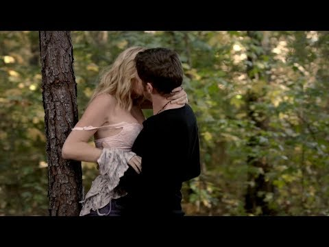 The Vampire Diaries 5x11 Klaus and Caroline kiss/make out and have sex, hot scene [HD]