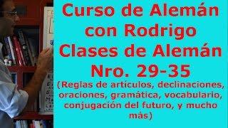 Clases de aleman Nro 29-35 - Aprender Aleman con Rodrigo