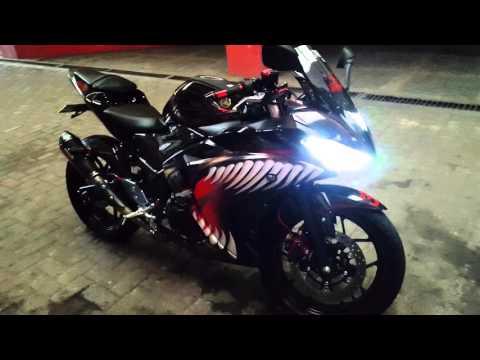 Yamaha R25 Full Modifikasi terpopuler