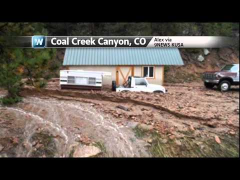Historic Flooding in Colorado - Three Months Worth of Rain in 48 Hours