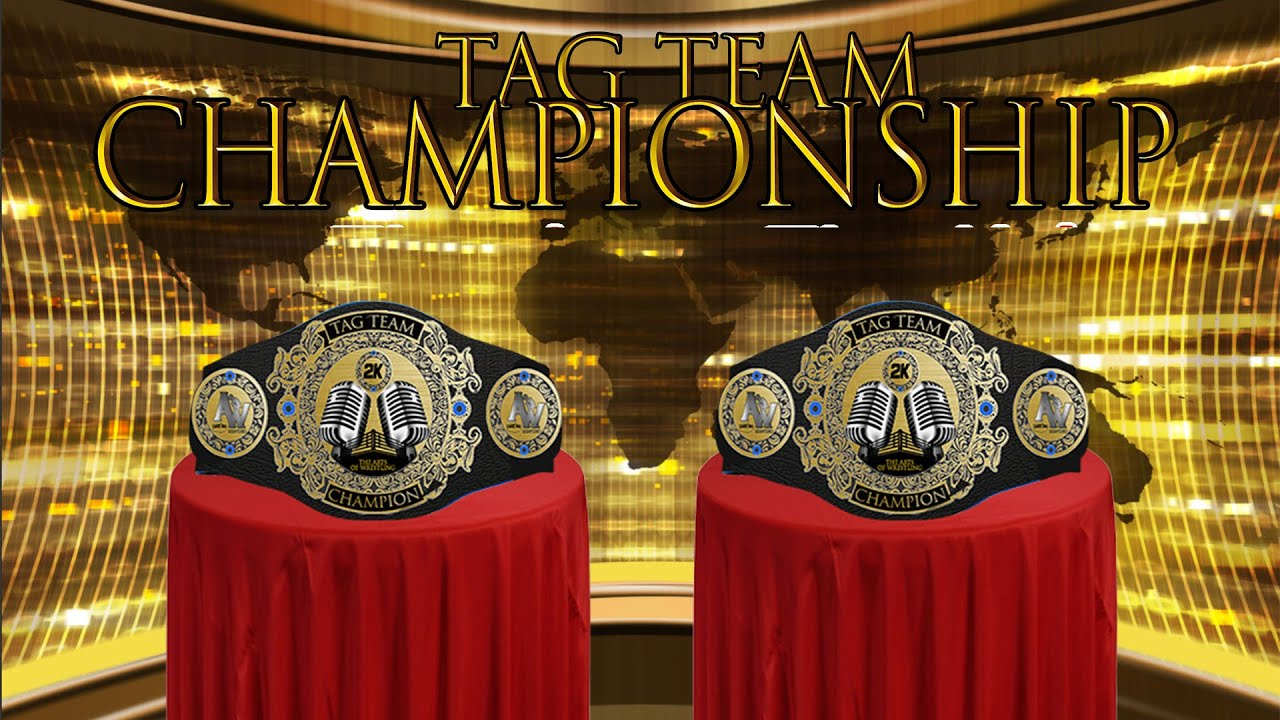 Tag Team Titles Vacated