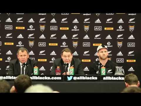 All Blacks POSTMATCH vs Lions 2017 3RD TEST #NZvBIL