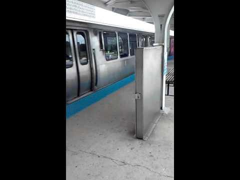 CTA Blue Line Train to O