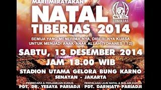 Christmas TIBERIAS - SILENT NIGHT MALAM KUDUS- Gelora Bung Karno Senayan  13 des 2014