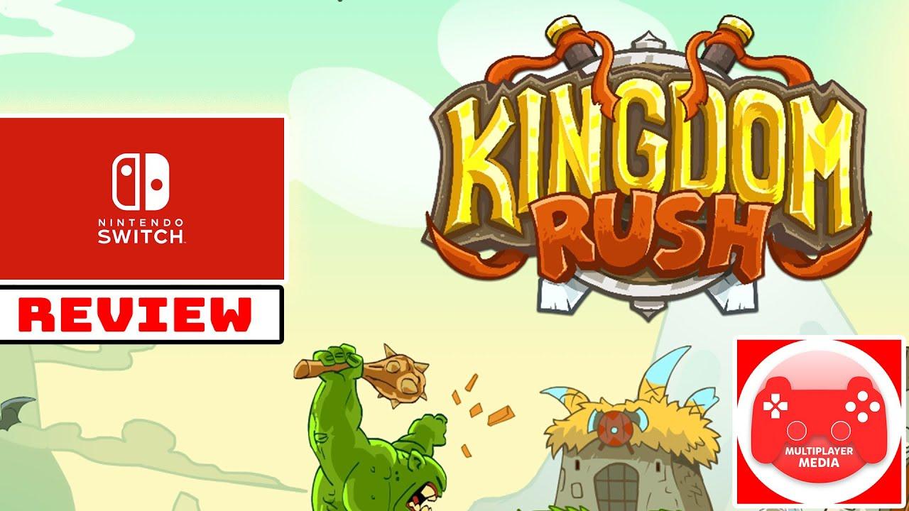 Kingdom Rush Nintendo Switch! (Review)