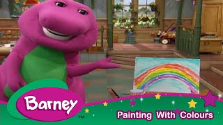 Barney|Colours and Painting With Barney!|Arts And Crafts For Kids