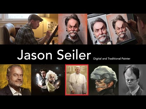 Jason Seiler: Digital and Traditional Painter | Lynda.com from LinkedIn