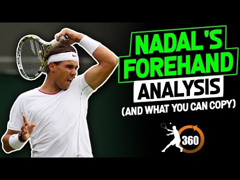 Rafa Nadal Forehand Analysis (And What You Can Copy) SLOW MOTION