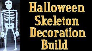 Halloween Skeleton Lifesize Wooden Skeleton Build