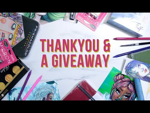 THANK YOU FOR 240K! | GIVING AWAY FREE ART SUPPLIES!