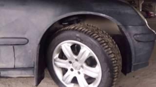 Потекла передняя стойка на Mercedes-Benz C180 Kompressor