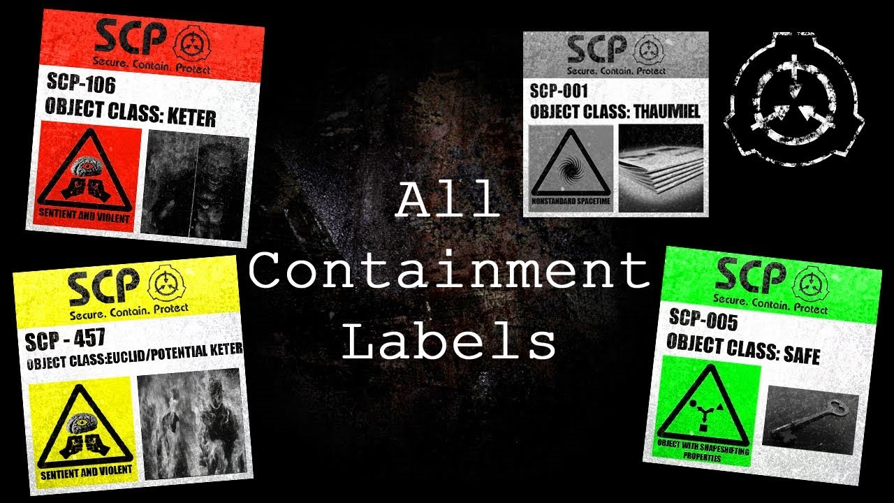 All Containment Labels Scp Containment Breach Ultimate Edition V5 0 0 Youtube Choose a reason… there's a problem with my order it uses my intellectual property without. all containment labels scp