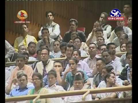 Prachanda in Parliament