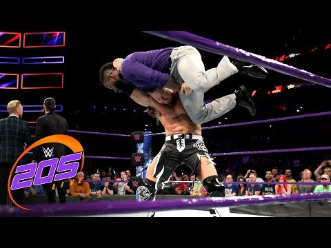 Buddy Murphy ruins Cedric Alexander's Championship Celebration: WWE 205 Live, April 10, 2018