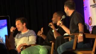 Chicago Comic Con - Sebastian Stan and Anthony Mackie (1st 18 minutes)