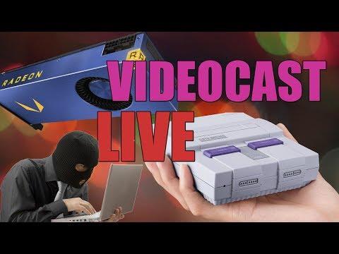 VideoCast Adrenaline AO VIVO: Vega Frontier, Petya e Super NES Classic