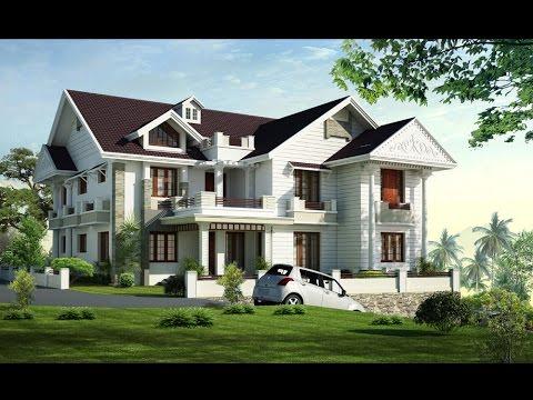 Kerala New Houses - Victorian Style House - Denny Kurian @ Kothamangalam - YouTube