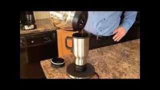 The Hot Traveler: Self-Heating Travel Mug Powered by Battery