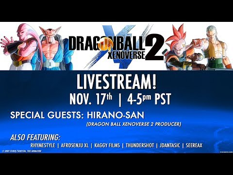 Dragon Ball XENOVERSE 2 Extra Pack #1 Livestream | PS4, X1, PC, Switch