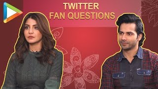 "Anushka Sharma: ""I & Varun Dhawan want to do a...."" 