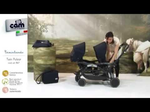 Baby Shop - Cam Twin Pulsar Iker -és Testvér Babakocsi - YouTube cdeef1cd47