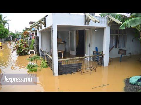 Inondations à Flacq: