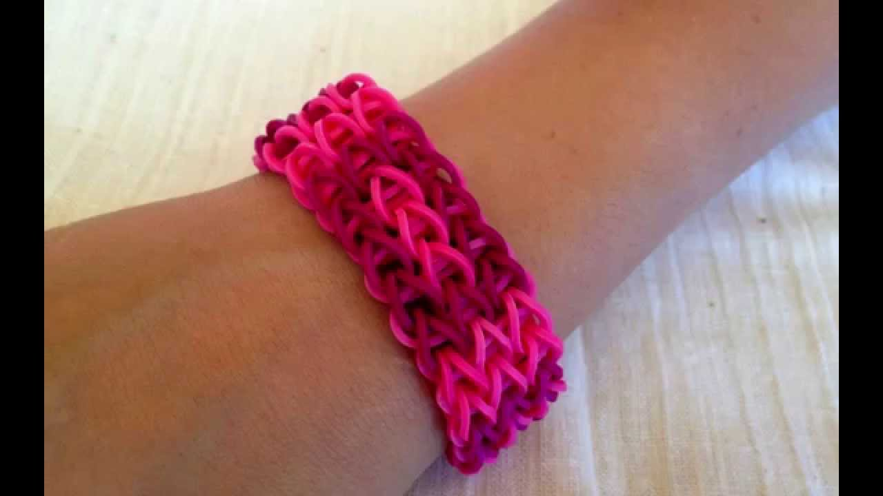 Rainbow Loom Bracelet  Get Inspired To Make Them Yourself Rubber Bands  Bracelets  Youtube