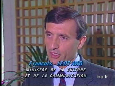 Audiovisuel : réaction Léotard