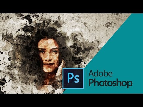 Mixed Art Photoshop action tutorial Photoshop actions thumbnail