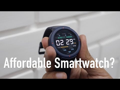 Amazfit Verge Smartwatch for Rs 12K Unboxing & Review