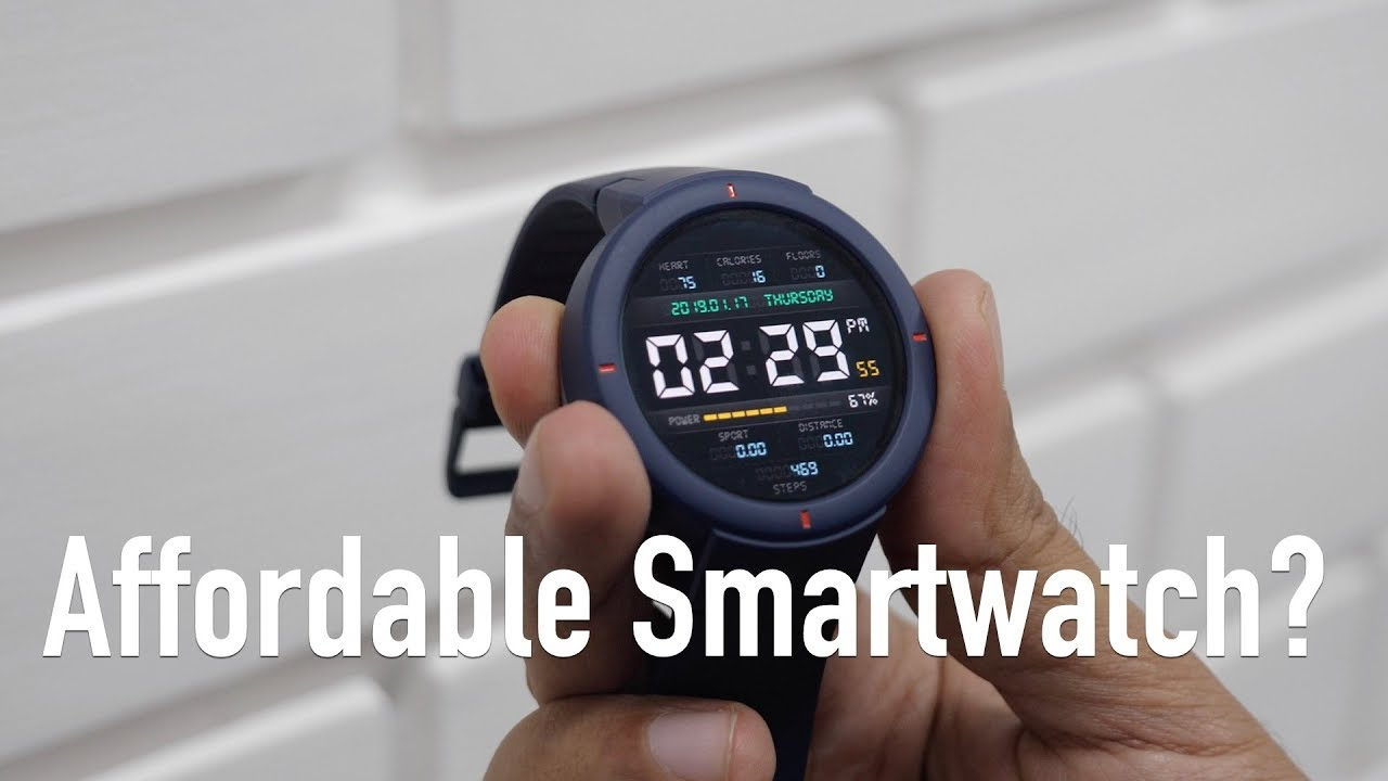 259a00e18cd Amazfit Verge Smartwatch for Rs 12K Unboxing   Review - YouTube