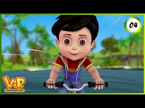 Vir: The Robot Boy | The Mask of Vir | Action Show for Kids | 3D cartoons thumbnail