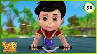 Download Video Vir: The Robot Boy | The Mask of Vir | Action Show for Kids | 3D cartoons MP3 3GP MP4