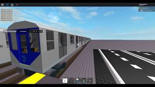 R211 Arriving a Random Station NYCT/Roblox