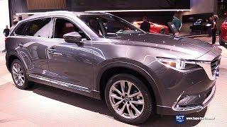 2018 Mazda CX-9 - Exterior and Interior Walkaround - 2018 New York Auto Show