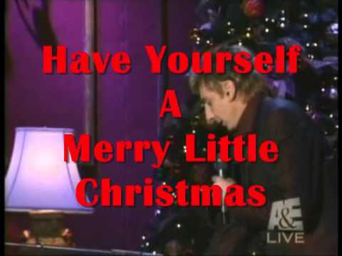Barry Manilow - Have Yourself A Merry Little Christmas - YouTube