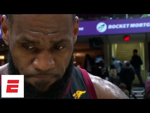 LeBron James choked up over the death of Gregg Popovich's wife, Erin | ESPN