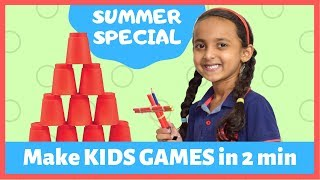 Make Kids Games in 2 min | Games for girls and boys | Shooting Games | #fun #play #pihugautam