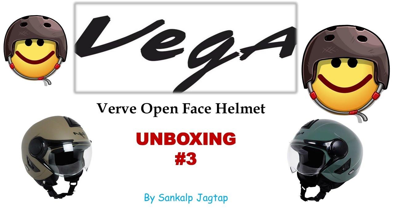 47973111 Vega Verve Open Face Helmet| Amazon Refund|UNBOXING #3 - YouTube
