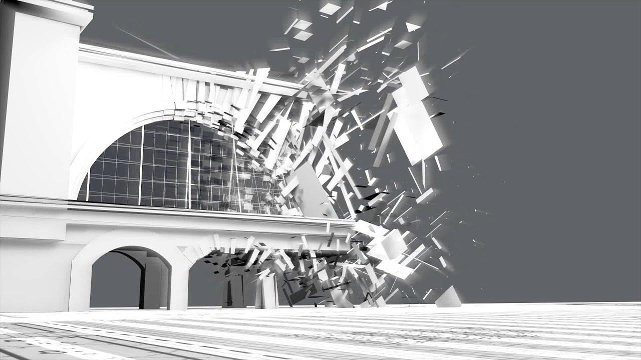 Architecture animation cinema 4d particle distortion youtube for Cinema 4d architecture