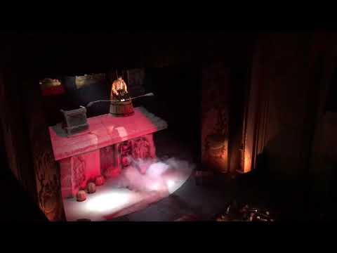 Zankovetska Theater (Lviv, Ukraine). Play 'Night before Christmas'  by Gogol