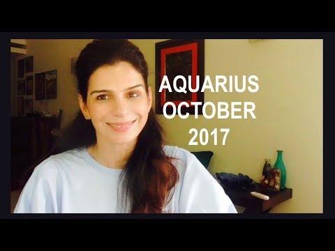 Your Work Shines |Aquarius October Astrology 2017| Tarotbyanisha - YT