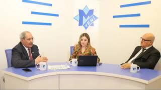 Fəzail Ağamalı ilə Sərdar Cəlaloğlu qarşı-qarşıya - Canlı yayın debatı
