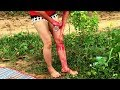 How to Do Dragon fruits Mask Body Skin Whitening With Beautiful Girl - Simple at home