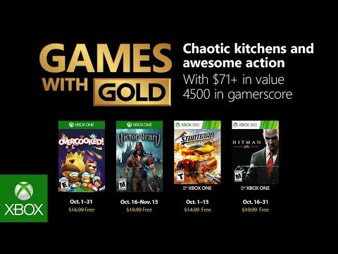 Xbox Gold Games October 2020.Xbox Live Gold Free Games For October 2018 Announced Gematsu