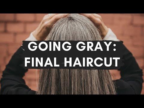 This Organic Girl Final Going Gray Haircut